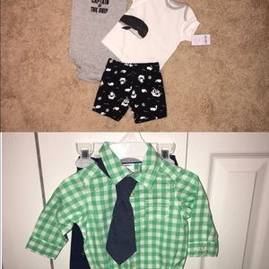 2 Carter's outfits!!